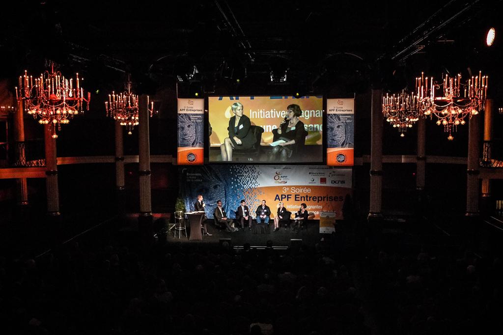 Soirée APF Entreprises à Paris avec BCOM partner et Com' Events