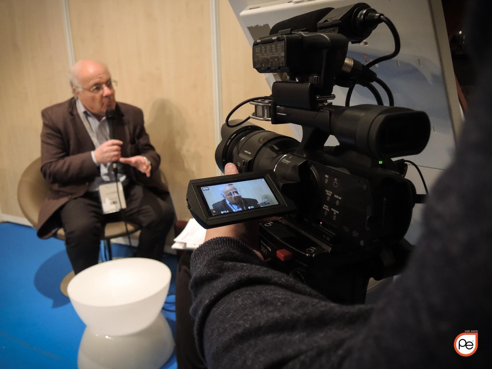 Réalisation Vidéo d'interviews à Montpellier – Elsevier Masson