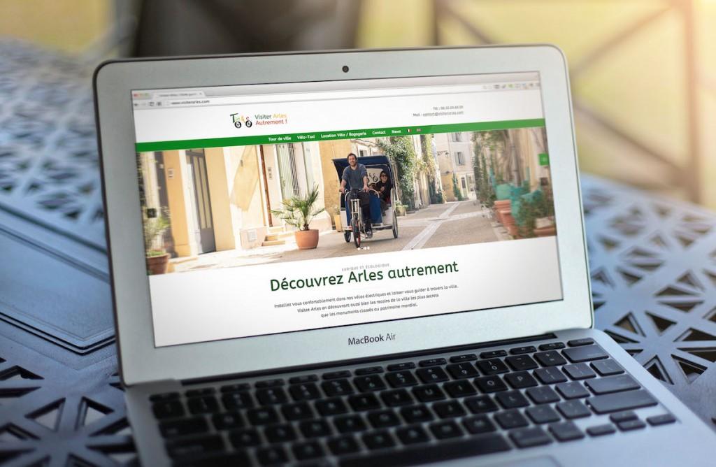 Création de site Internet Arles- Pixel Events