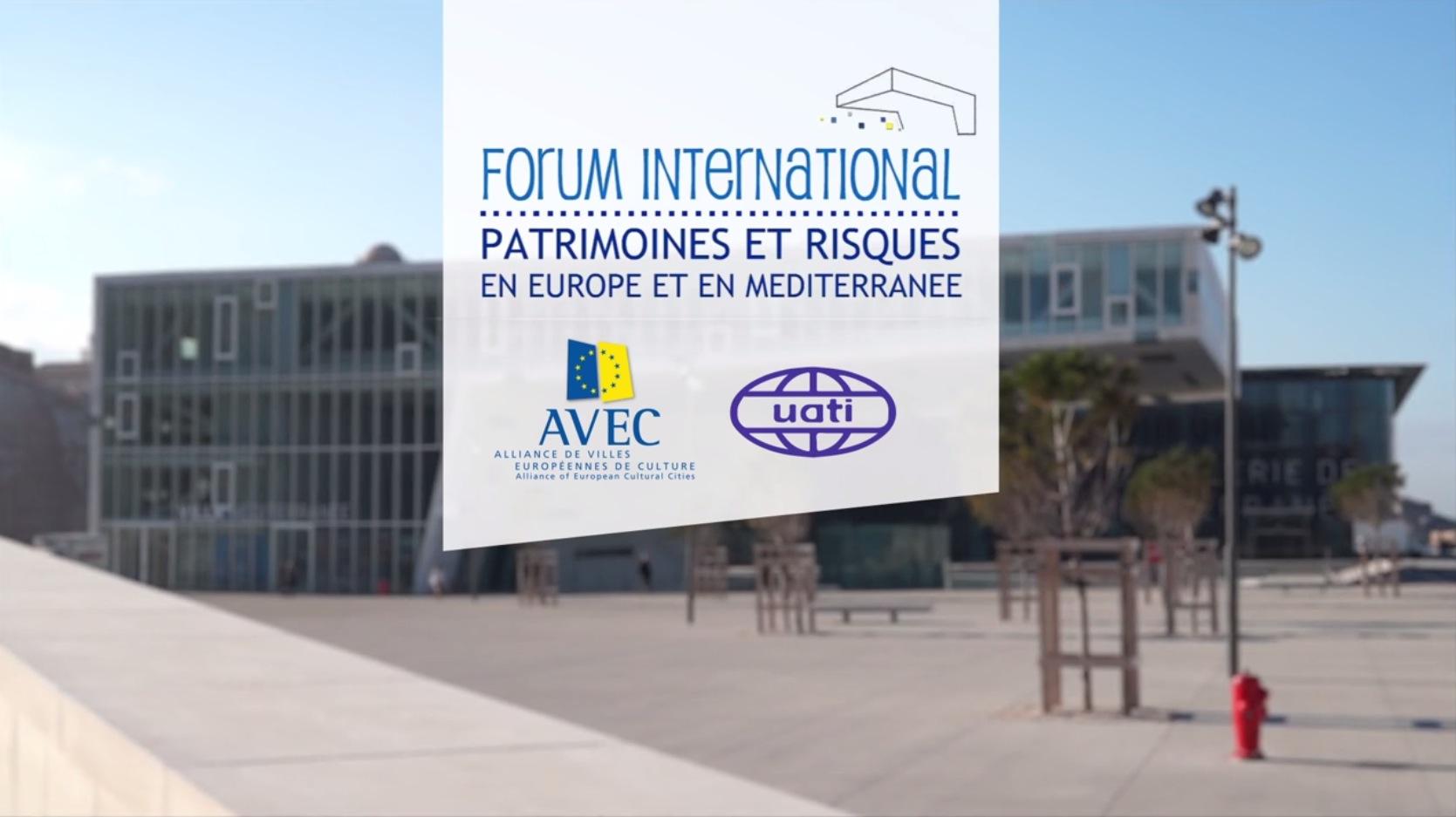 Forum Patrimoine et Risques / AVEC – Film Institutionnel