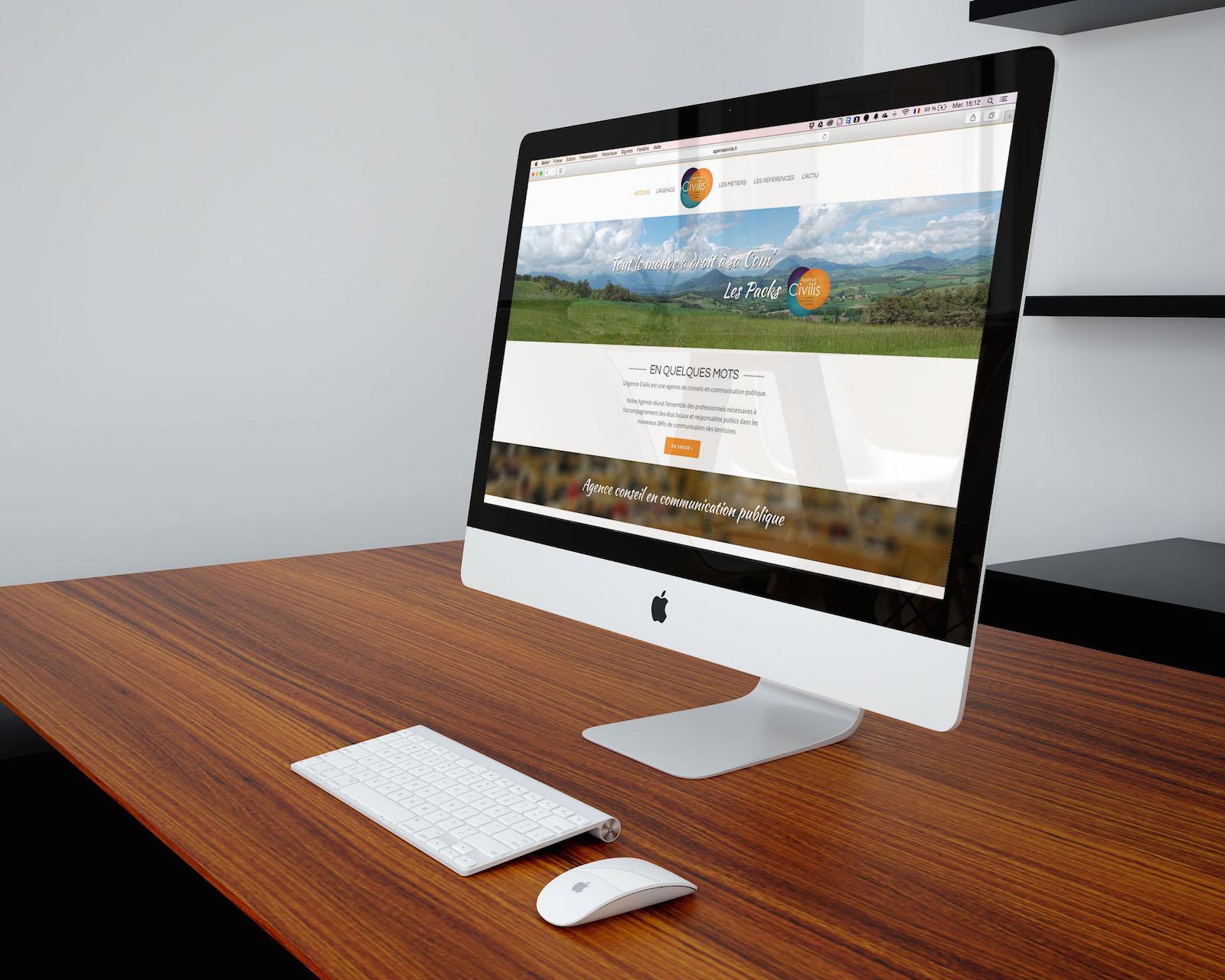 Création de Site Internet : Agence Civilis