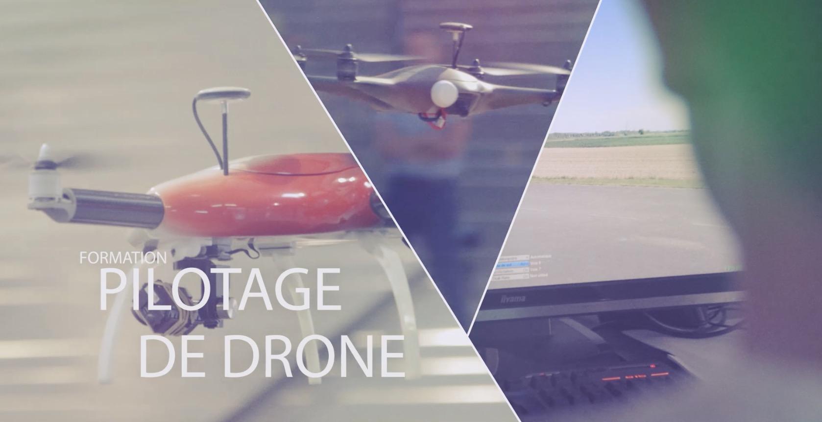 Film d'Entreprise – Formation au pilotage de Drone Sydair