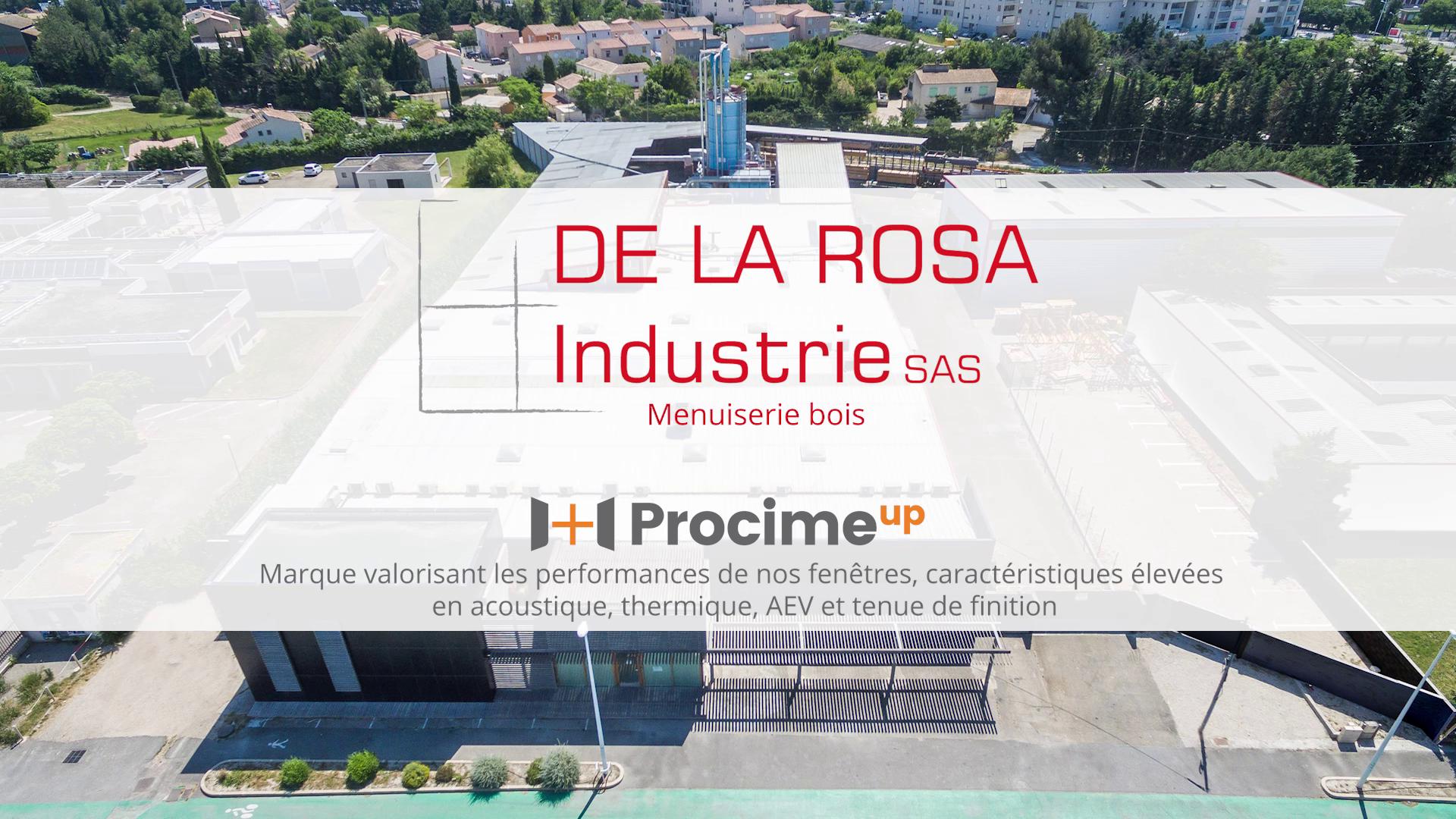 DE LA ROSA Industrie- Film d'entreprise à Arles
