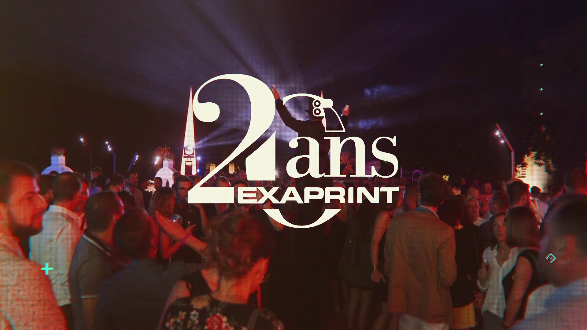 Soirée des 20 Ans d'Exaprint, Film évenementiel à Montpellier avec Com'Event Organisation