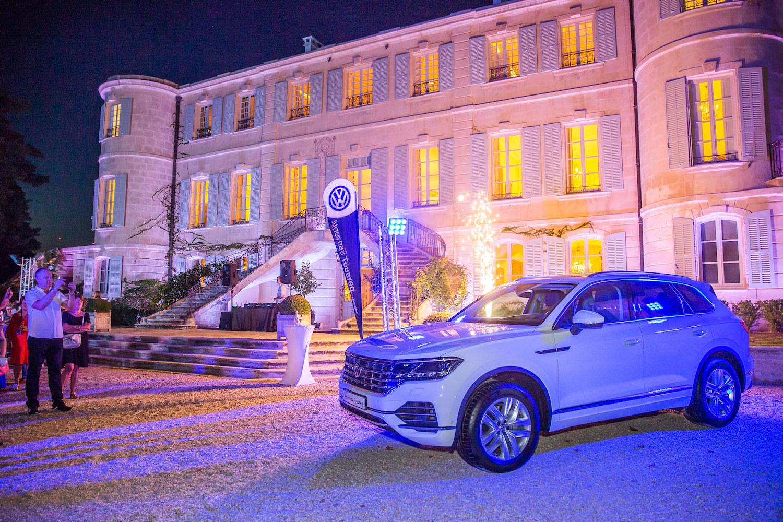 Reportage Photo Volkswagen au Château d'Estoublon
