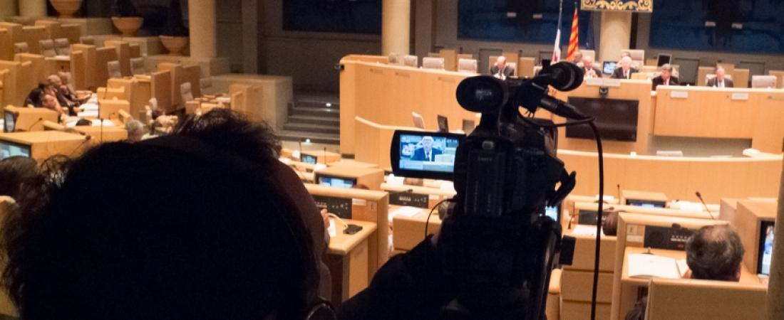 Réalisation de film pour l'Union Régionale des Maires