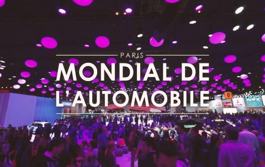 Mondial de l'automobile – Film événementiel