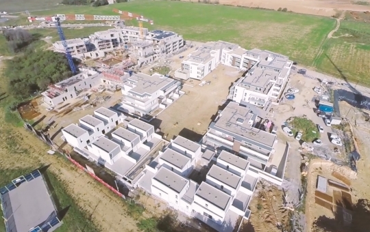 Suivi de Chantier Hélénis – Film Aérien par Drone