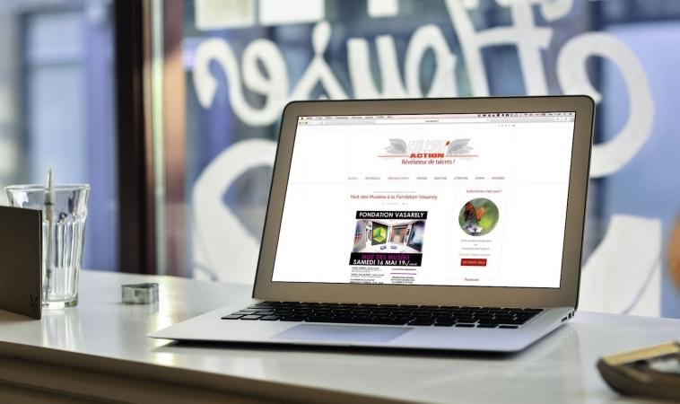 Création de Site Internet : Cultur'Action