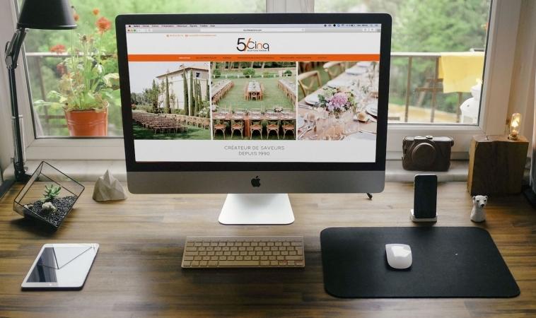 Création de Site Internet : 5sur5receptions.com