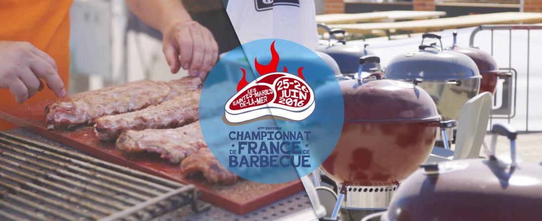 Réalisation du film version longue du Championnat de France de Barbecue