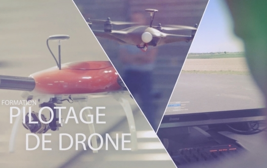 Formation pilotage de Drone Sydair – Film de Formation