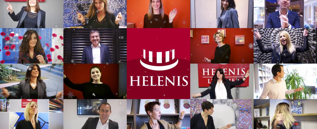 Réalisation du film des Voeux 2017 du promoteur immobilier Hélénis à Montpellier